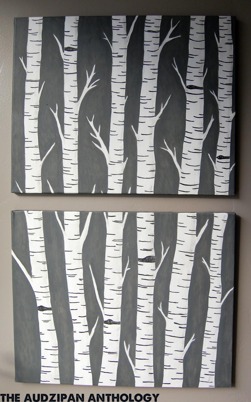 Birch Trees Art