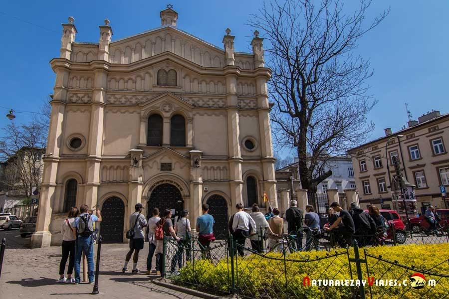 Sinagoga Tempel en Kazimierz, Cracovia