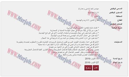 وظائف الحكومة المصرية اليوم 13 اكتوبر 2016 ,اعلان وظائف بنك مصر يعلن عن حاجته الى موظفين جدد من الجنسين بتاريخ 13 / 10 / 2016 ,بمحافظة القاهرة ,مهندس تنفيذ (مدني وعمارة) ,والتقديم الكترونى حتى يوم 27 / 10 / 2016