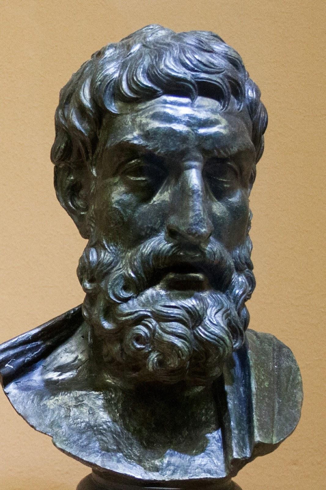 エピクロスの胸像