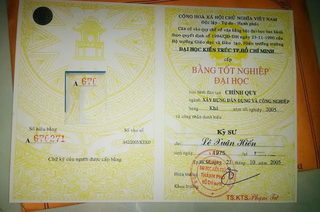 Nhận làm bằng đại học Hà Nội