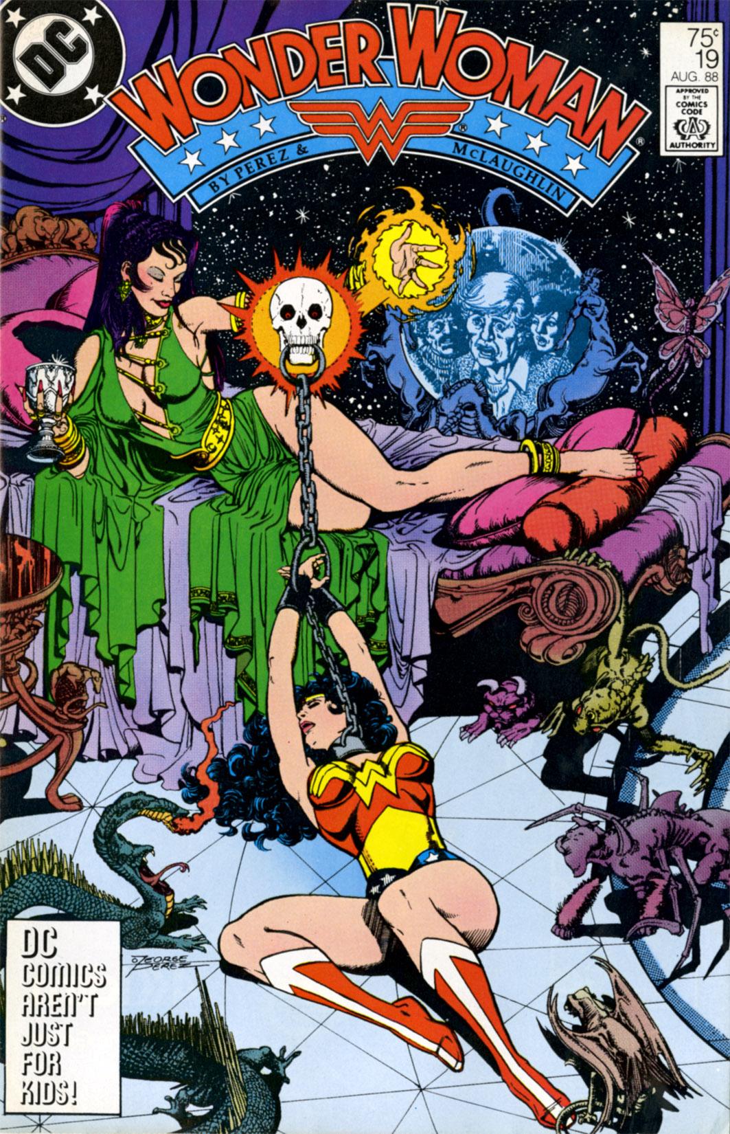 Read online Wonder Woman (1987) comic -  Issue #19 - 1