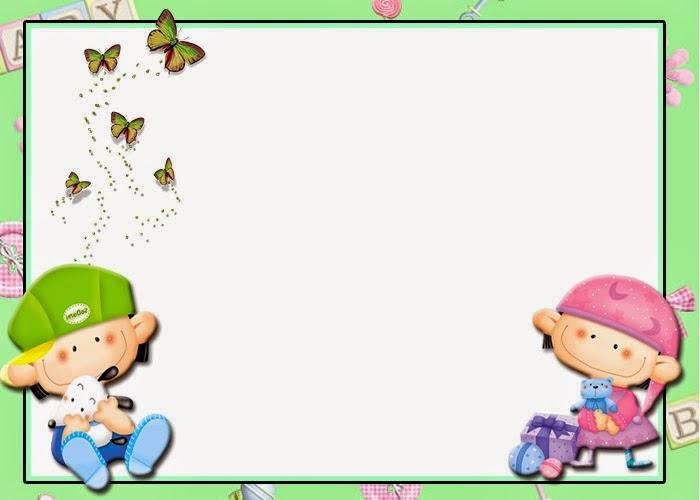 Para hacer Invitaciones, Tarjetas, Etiquetas o Marco de Fotos para Imprimir Gratis de Bebés.