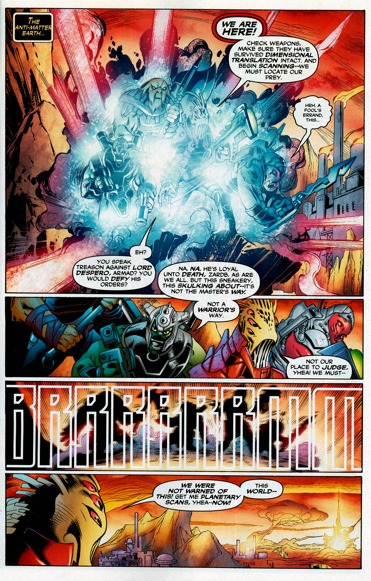 Read online Trinity (2008) comic -  Issue #14 - 3