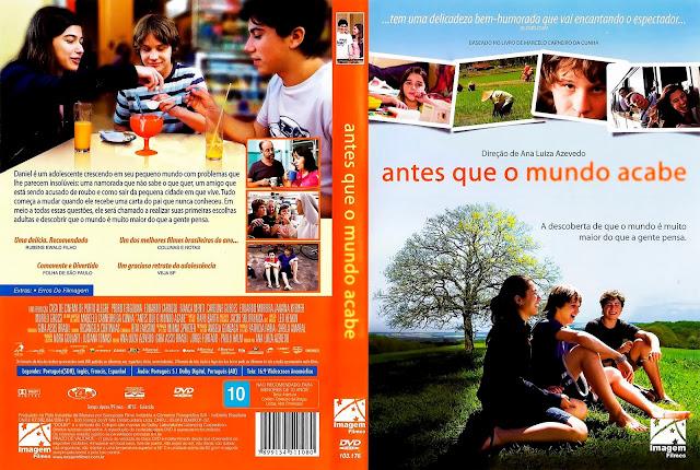 Capa DVD Antes Que o Mundo Acabe