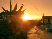 Zalazak sunca i kiša, Sutivan slike otok Brač Online