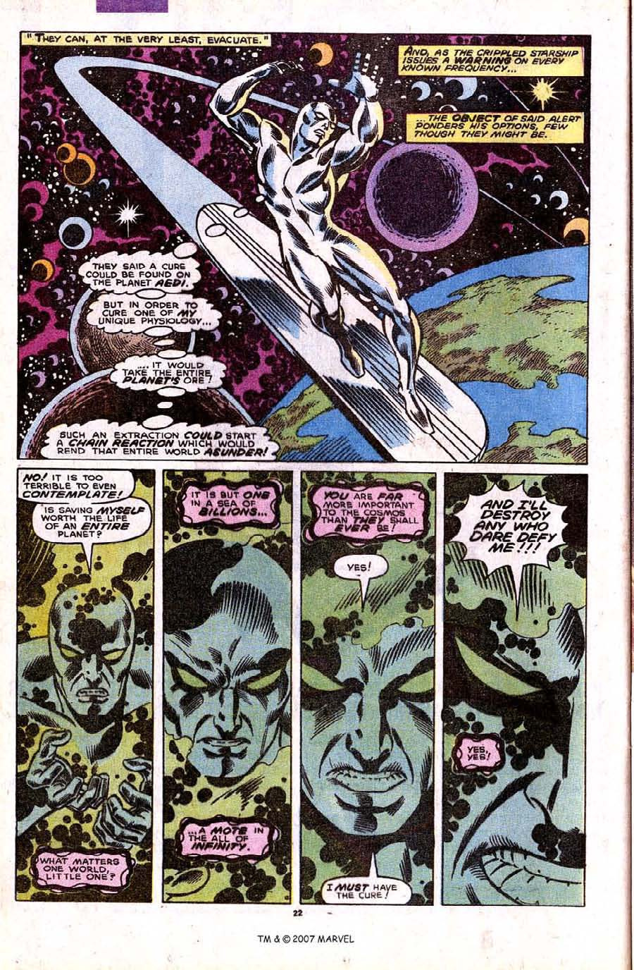 Read online Silver Surfer (1987) comic -  Issue #32 - 24