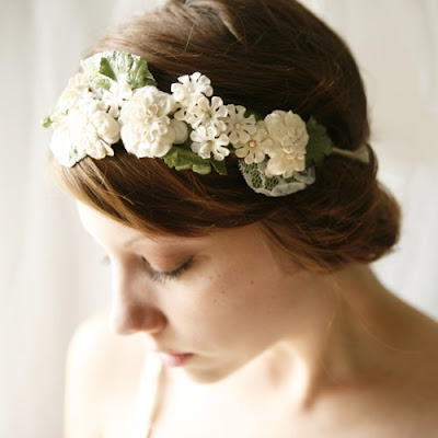 dreamy wedding headband