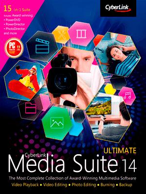 CyberLink Media Suite 14 box