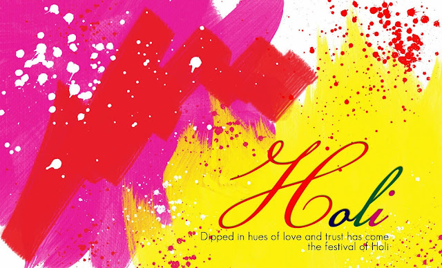 Happy Holi to you and your family members