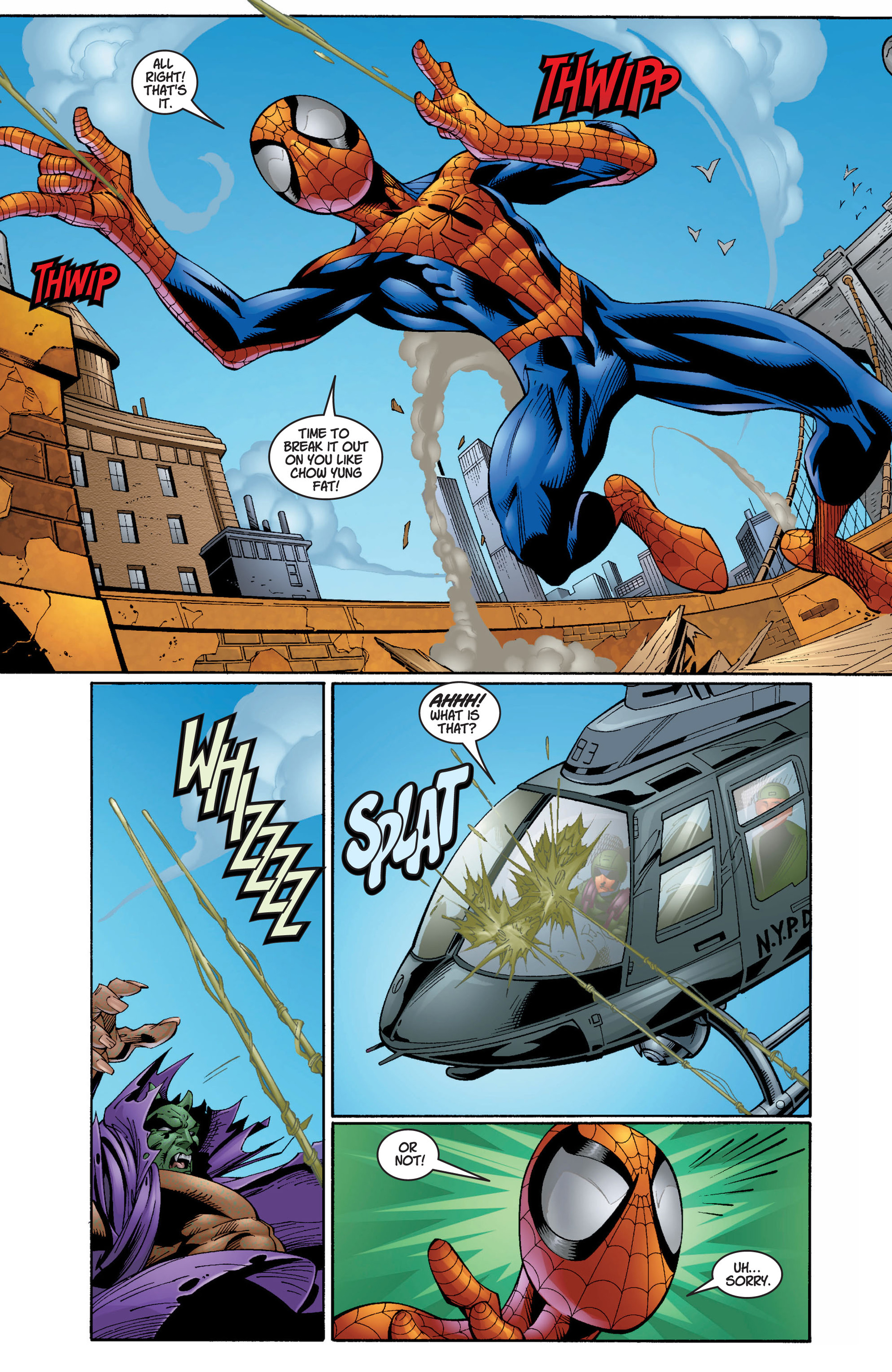 Read online Ultimate Spider-Man (2000) comic -  Issue #7 - 8