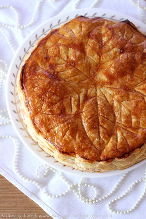 galette des rois - migdałowe ciasto Trzech Króli