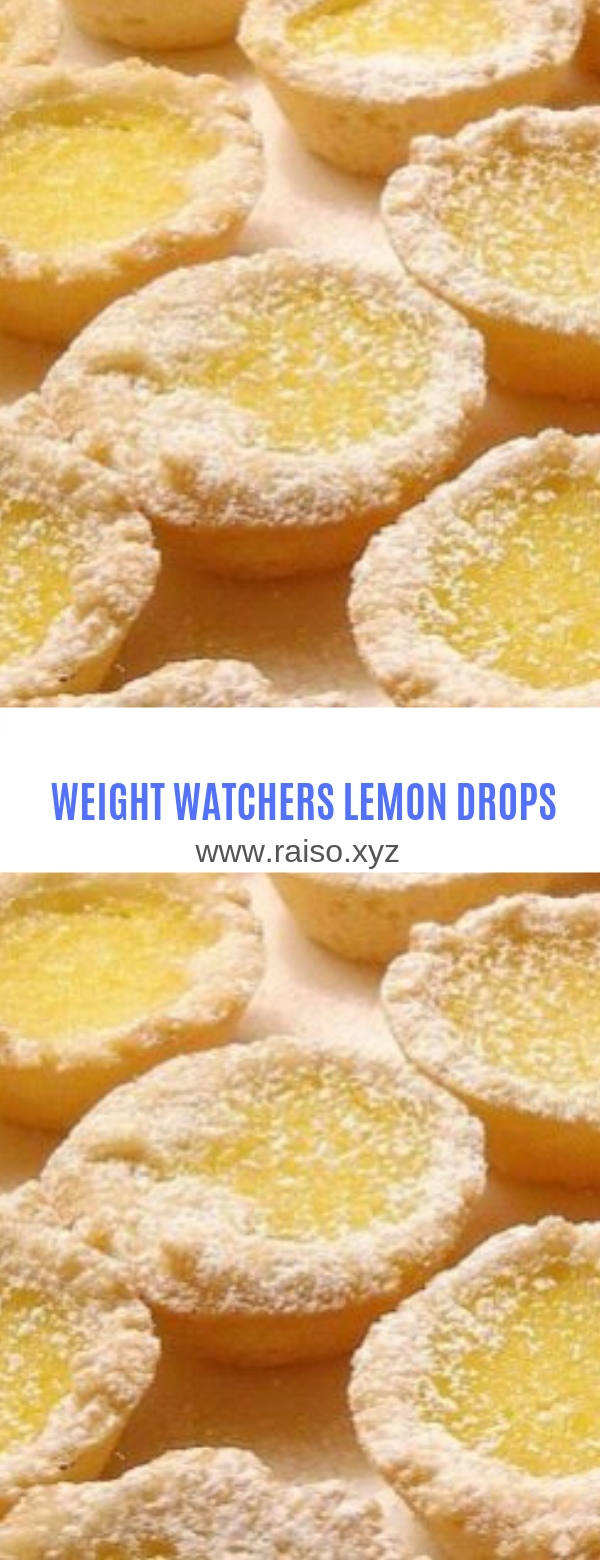 WEIGHT WATCHERS LEMON DROPS