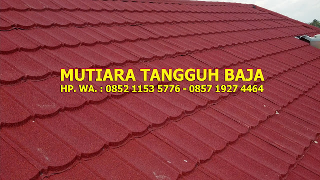 Jual Genteng Metal Berpasir 2x4 Murah Perlembar 2018-2019 Bekasi