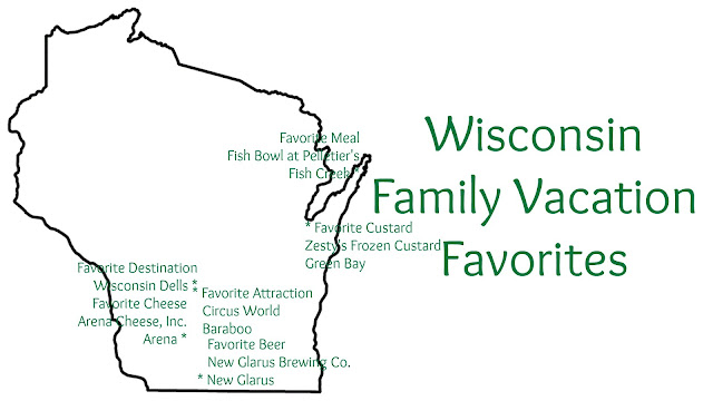 Wisconsin Family Vacation Favorite Cheese, Custard, Beer, Meal, Attraction and Destination