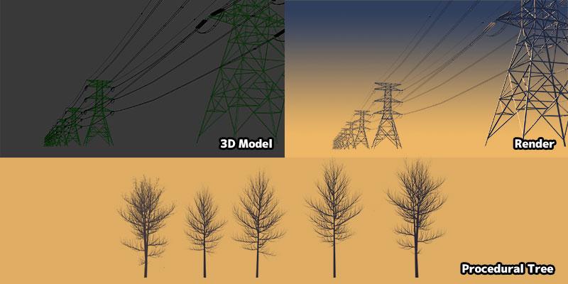 Blender3D model