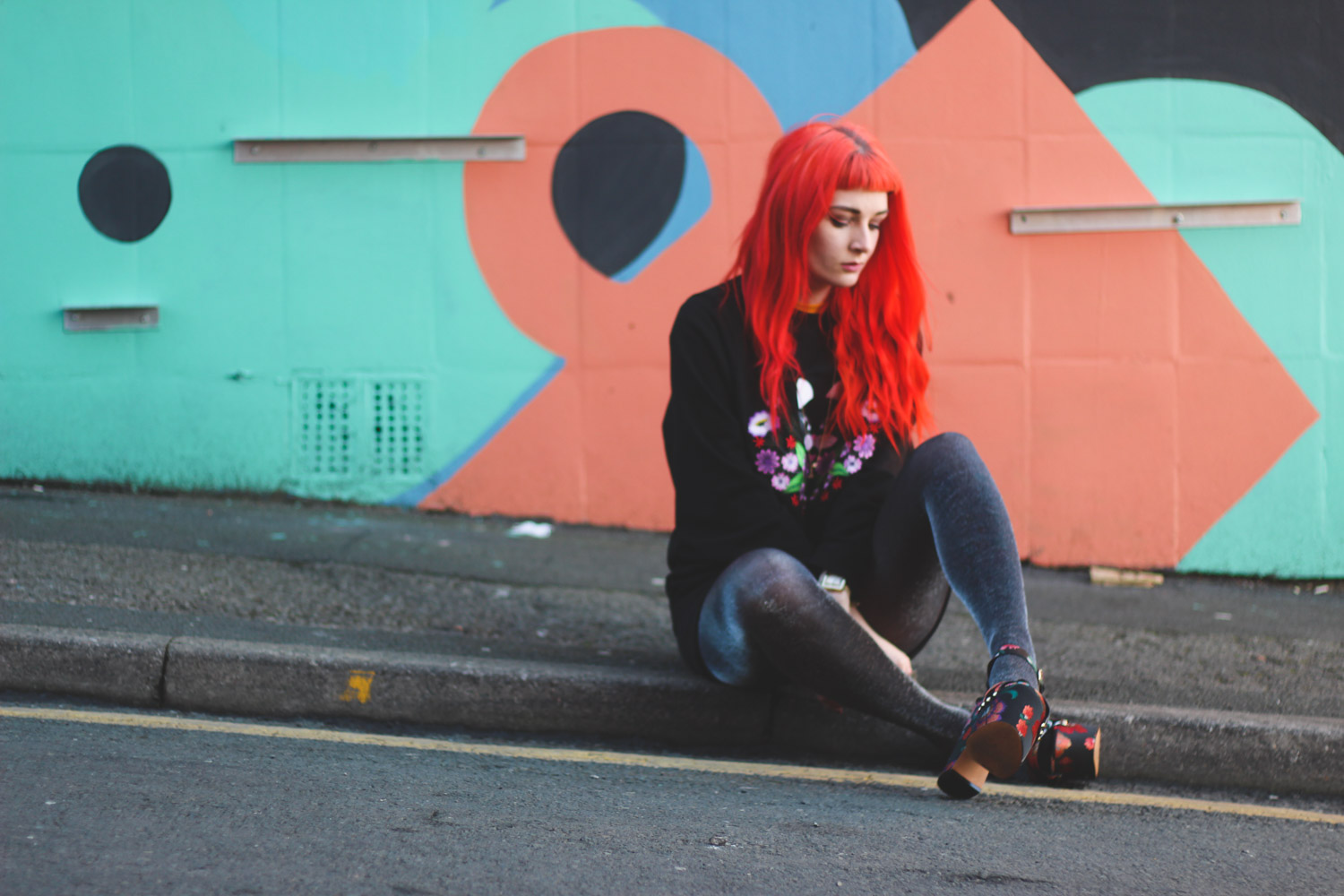 Alternative Fashion Blogger Foxxtailz in Monki