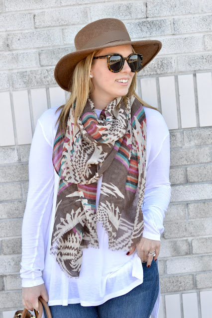 geometric-print-scarf-outfit