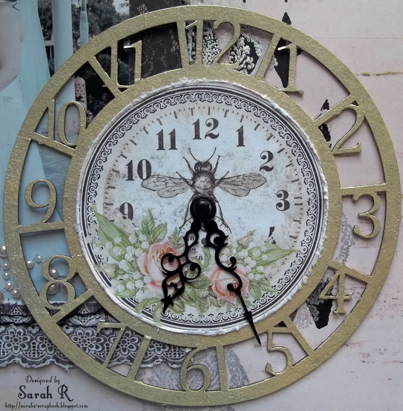 It is an image of Hilaire Clock Face Designs