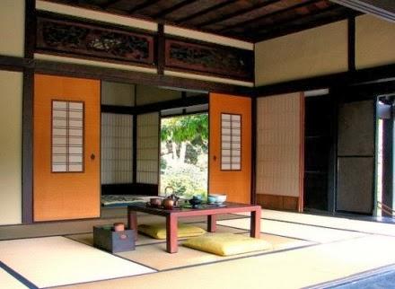 Contoh Desain Teras Rumah Bergaya Jepang Terbaru 2014