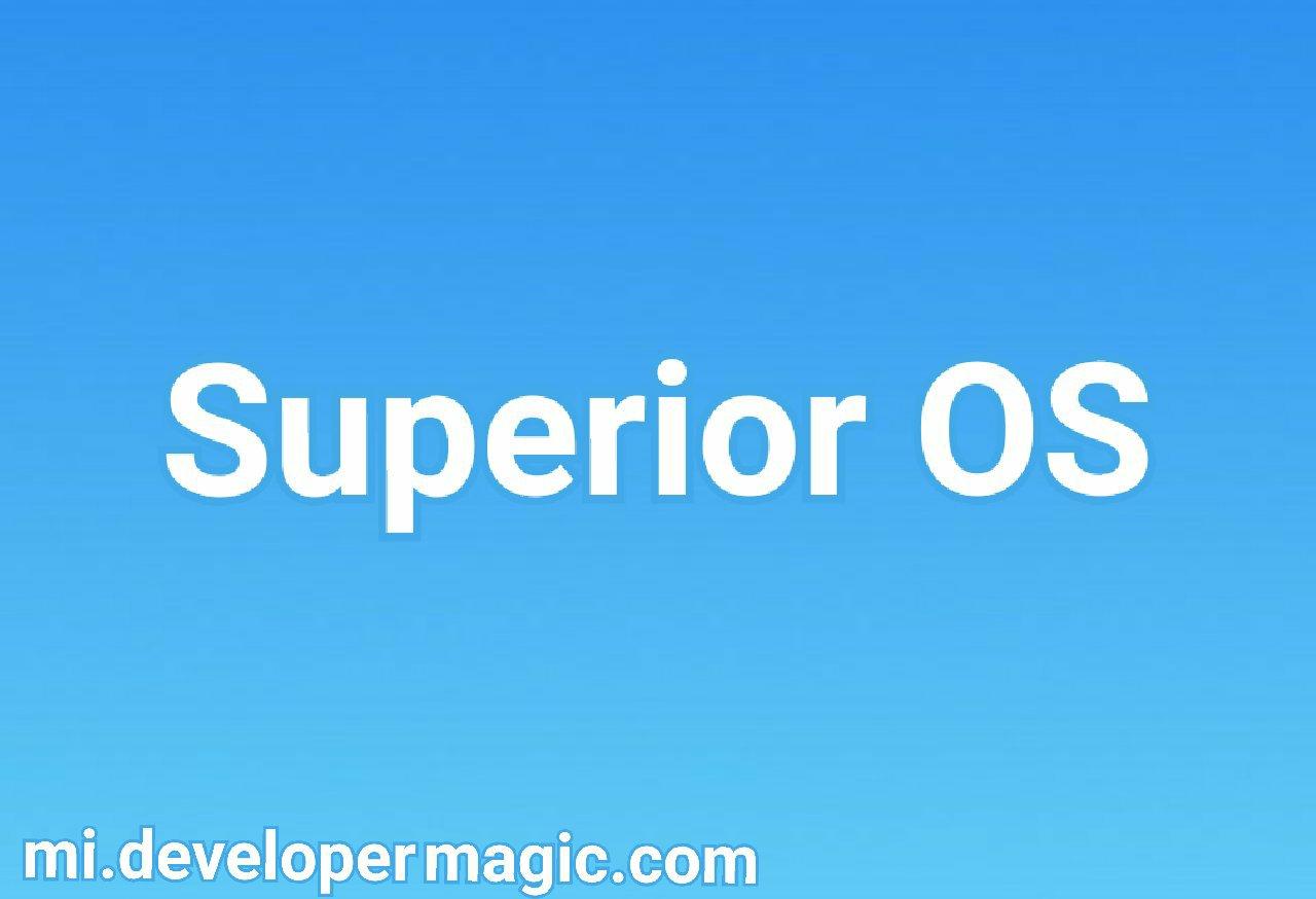 Superior OS Pie Redmi 5 Rosy