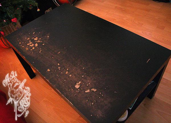 Lack Tisch Verschönern Home Ideen