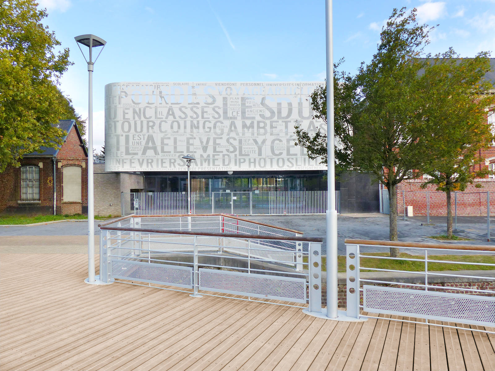 Tourcoing Lycées - Lycée Gambetta, Pont Hydraulique