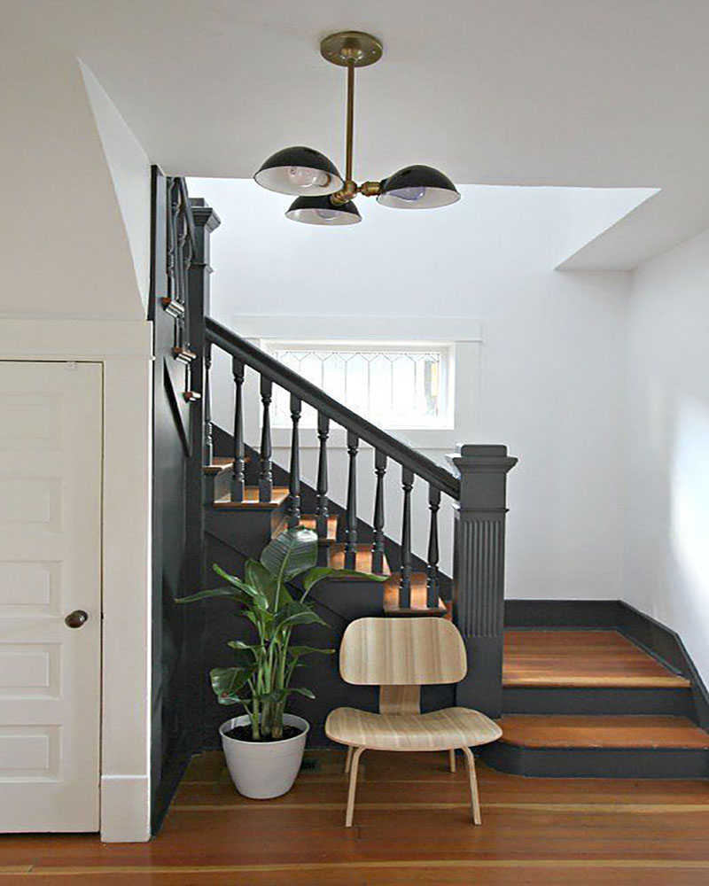 20 inspirations d co pour l 39 escalier blog d co mydecolab for Decoration escalier en bois