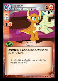 My Little Pony Smolder, Student of Friendship Friends Forever CCG Card