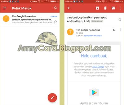 gmail daftar email baru