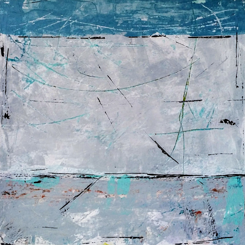 Abstract and Transitional Paintings by Jane Efroni.