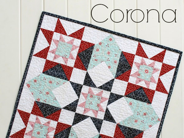 Corona Mini Quilt + Your Free June 2016 Calendar