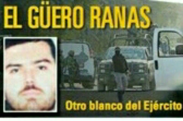 """Así fue la brutal cacería Militar contra El """"Güero Ranas"""", jefe de seguridad del """"Chapito"""""""