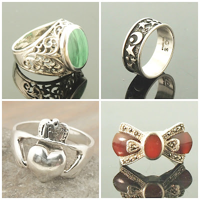 Vintage Rings at AbbeyForge.com
