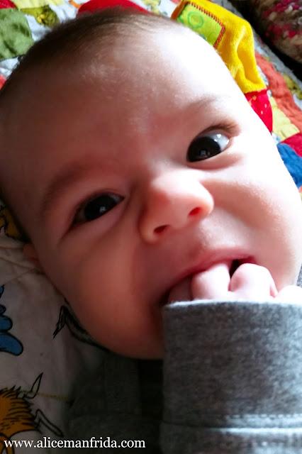 Three Months Postpartum, Mom, baby, baby boy