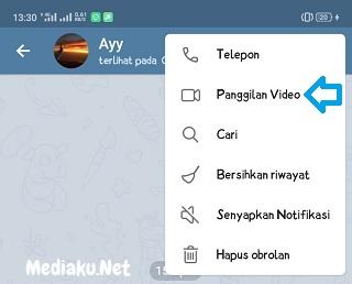 Cara Video Call Melalui Telegram