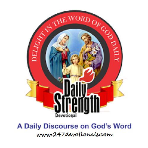 Daily Strength Devotional - DECEMBER 3, 2017