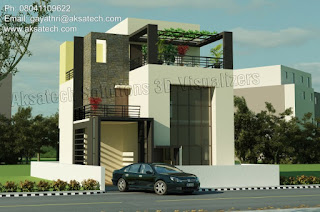 8 modern house exterior design pictures 8 modern house exterior design pictures from AksaTech Solutions pvt ltd   Here is the most admirable 8 selected home design projects from AksaTech  Solutions