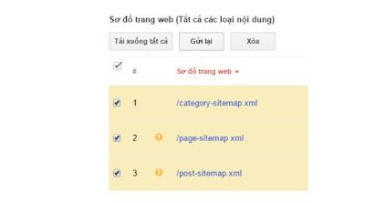 Tuyệt chiêu index nhanh trên googlesitemap 1