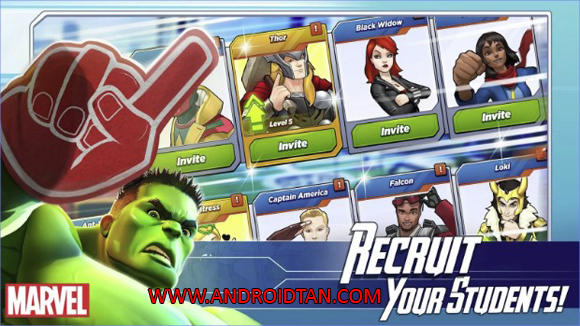 MARVEL Avengers Academy Mod Apk Unlimited Money Free Store Terbaru