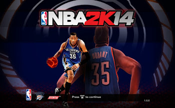 NBA 2k14 Title Screen Patch - Kevin Durant