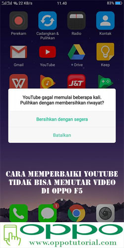 cara download video youtube di hp oppo
