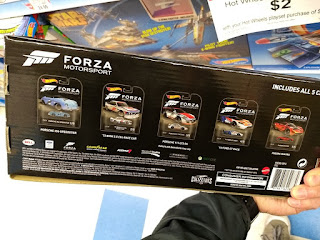 hot wheels forza motorsport 5 car set