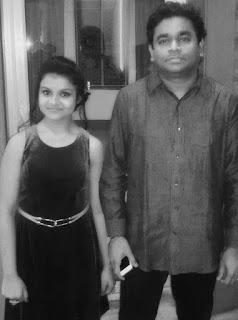 Antara Nandy and AR Rahman