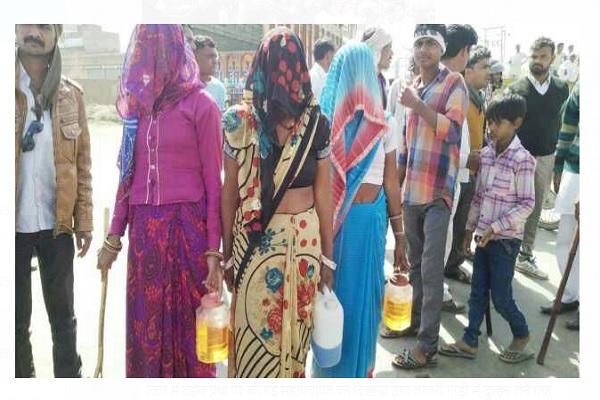 न्याय न मिलने पर मेवात के हिंदुओं ने दी पलायन की धमकी, किया सड़क जाम