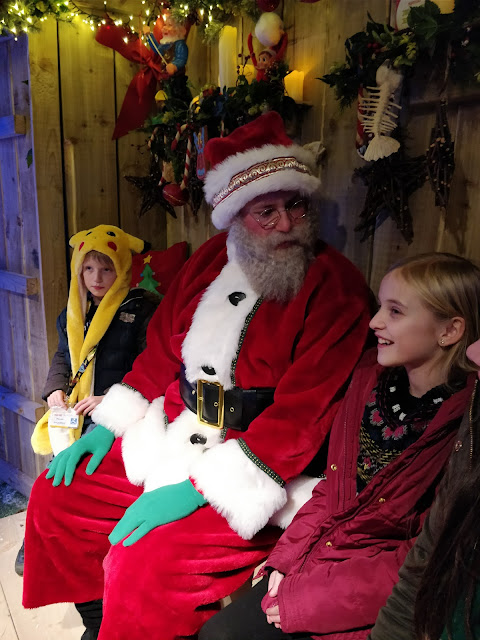 Santa at Shrek's Adventure! London review