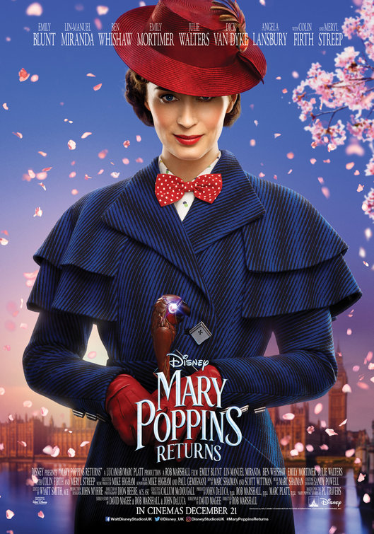 afe2812ee El Regreso de Mary Poppins (Mary Poppins Returns) (2018)