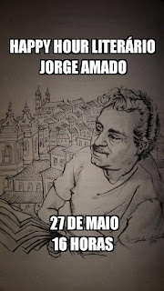 Happy Hour Literário: Jorge Amado