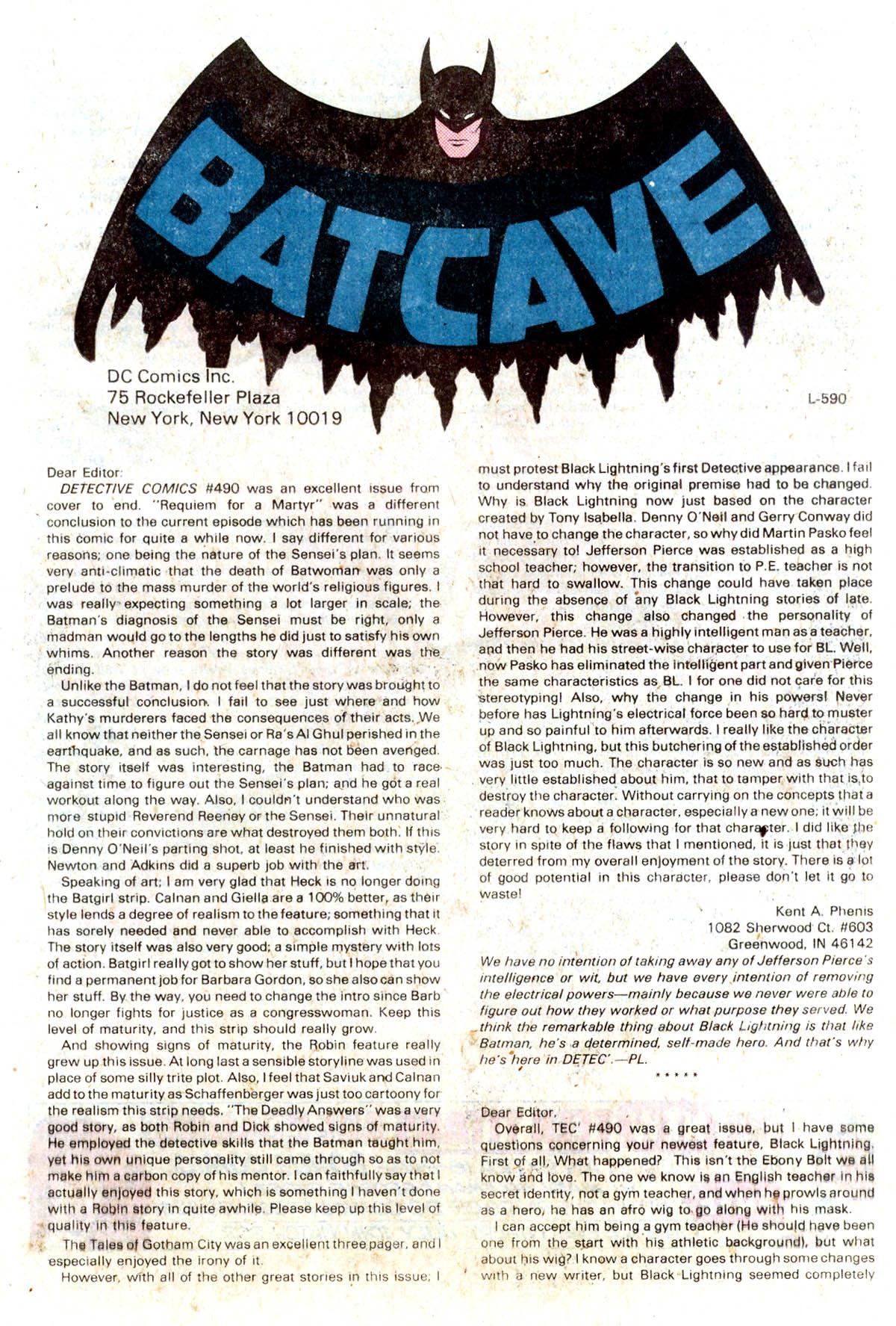 Detective Comics (1937) 495 Page 37
