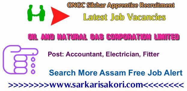 ONGC Silchar Apprentice Recruitment 2017 various vacancies
